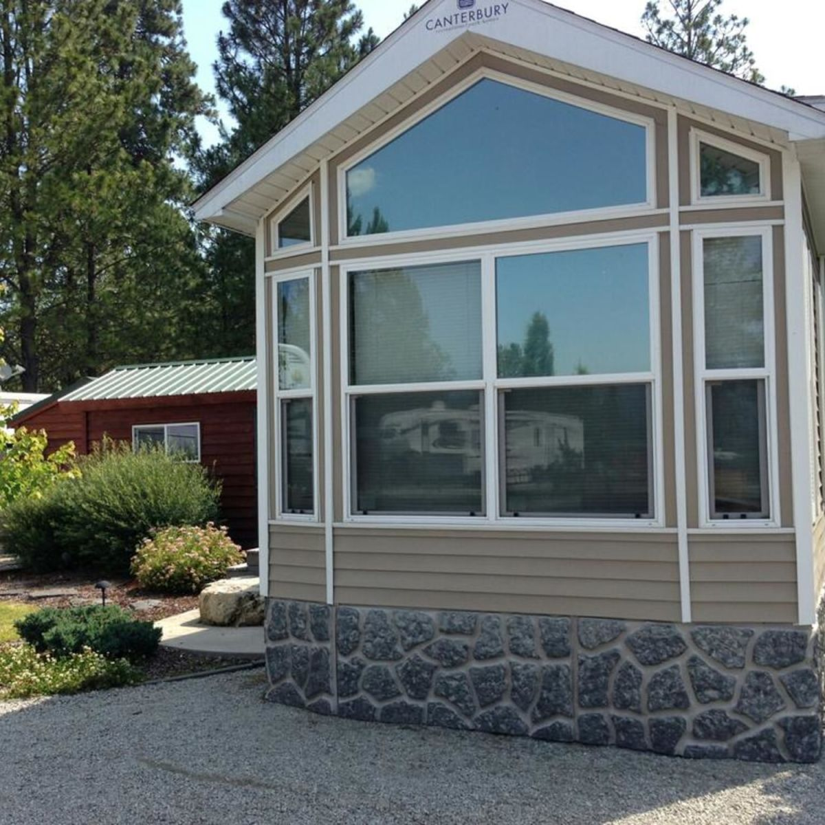 Park Model For Sale In Washington State 399 Sq Ft Tiny