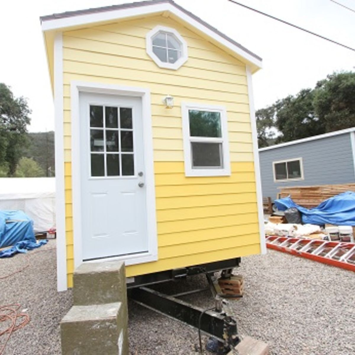 Mobile Home Cottage Door: 8.5 X 22 Custom Mobile Cottage Tiny House Bungalow