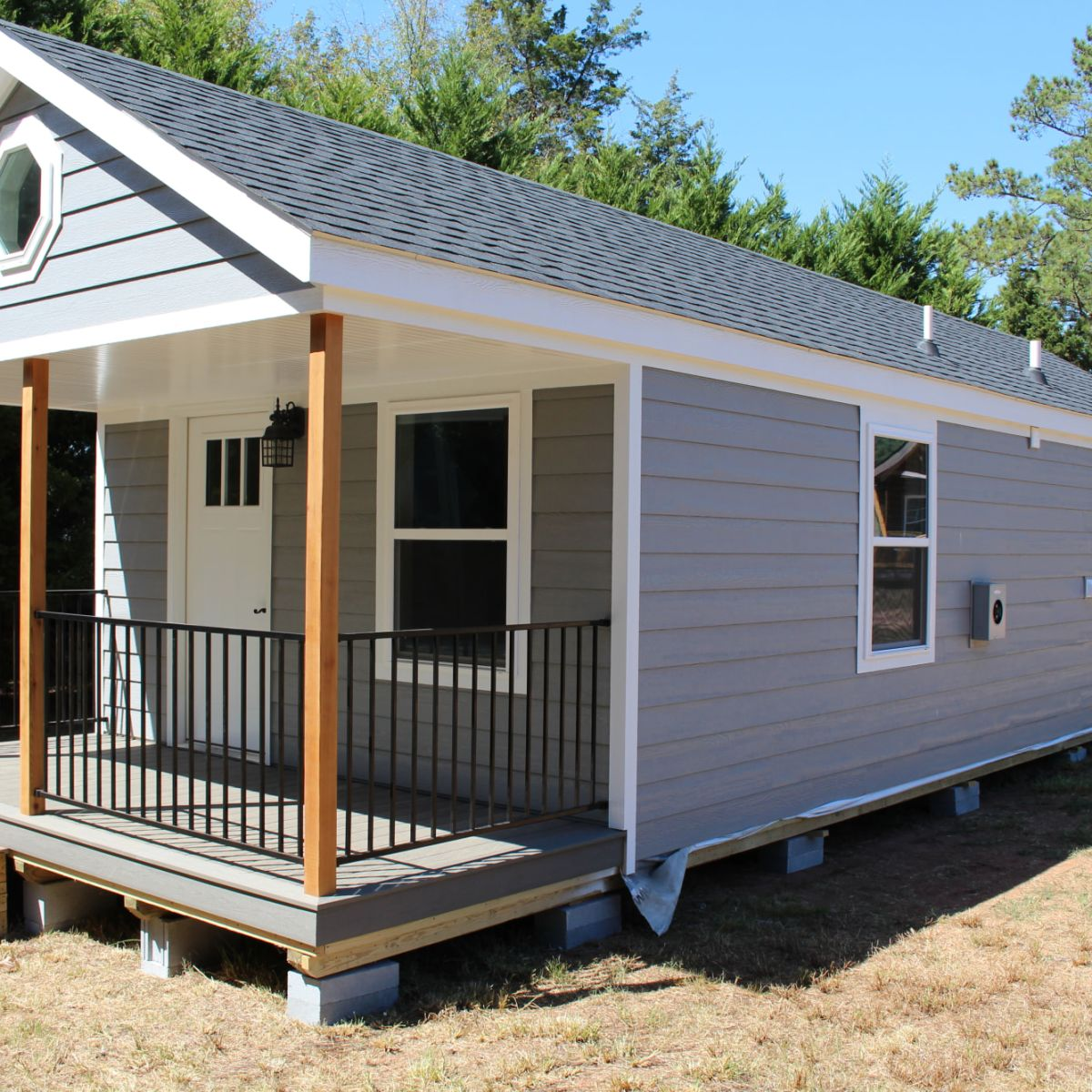 14x40 Modular Tiny Home Cabin For Sale In Due West South Carolina Tiny House Listings