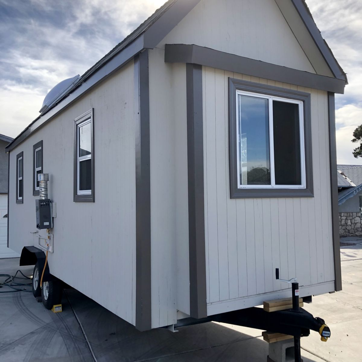 Tiny House With Downstairs Bedroom Plus Sleeping And