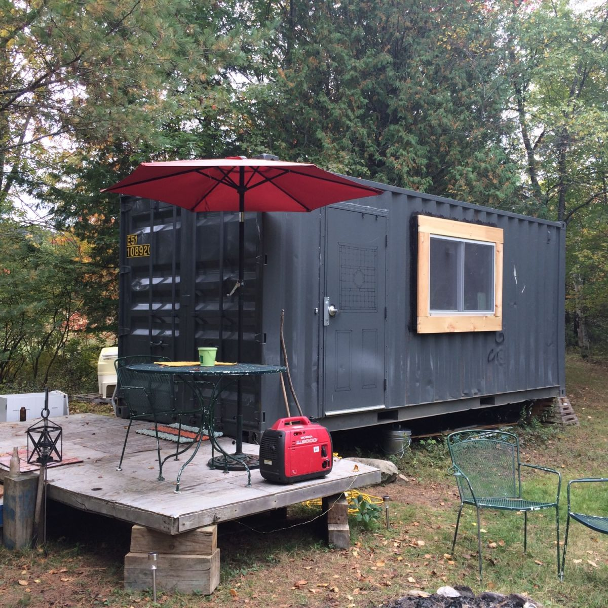 Converted Shipping Container For Sale, Great For Guests