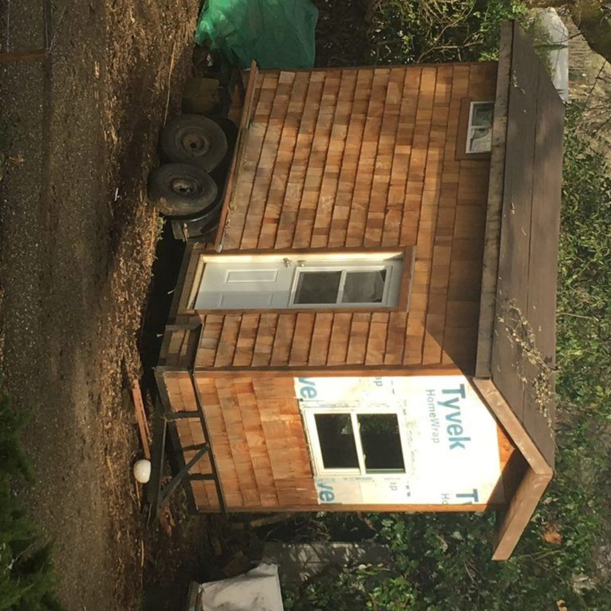 Half Finished 8 16ft Tiny House Tiny House For Sale In Penn Valley California Tiny House Listings