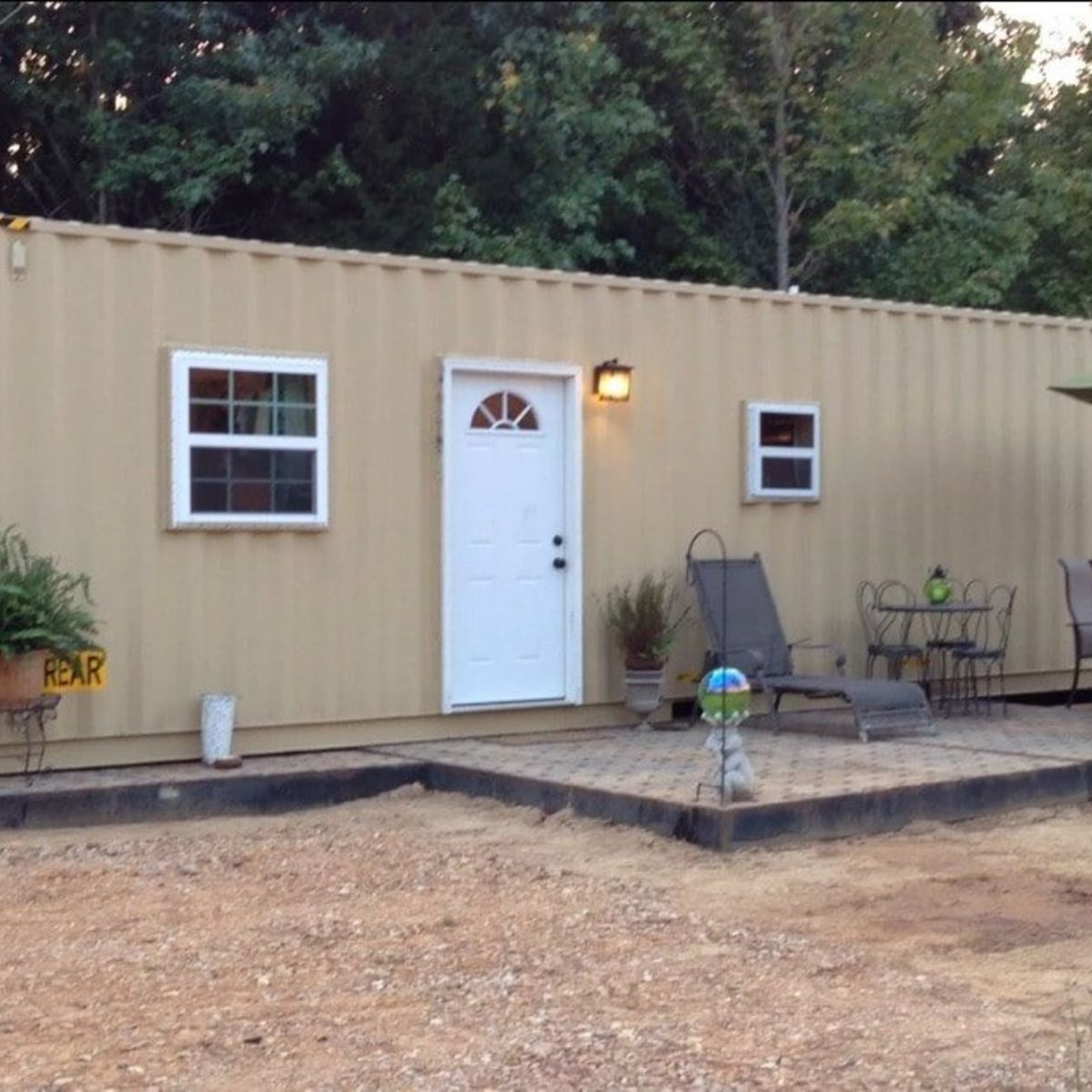 2 Bedroom Shipping Container Tiny House