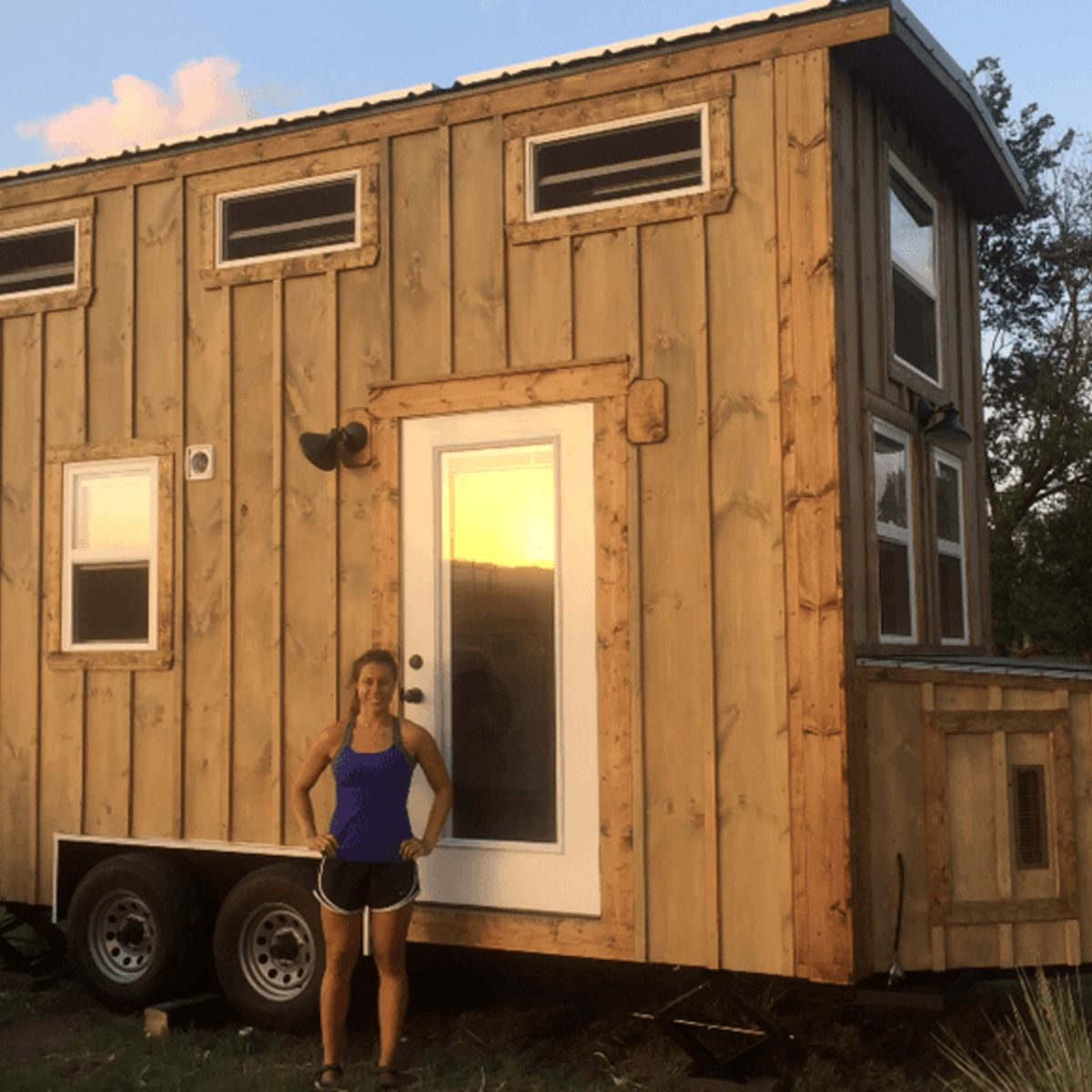 Cozy, Tiny Cabin - Tiny House for Sale in Colorado Springs, Colorado - Tiny  House Listings