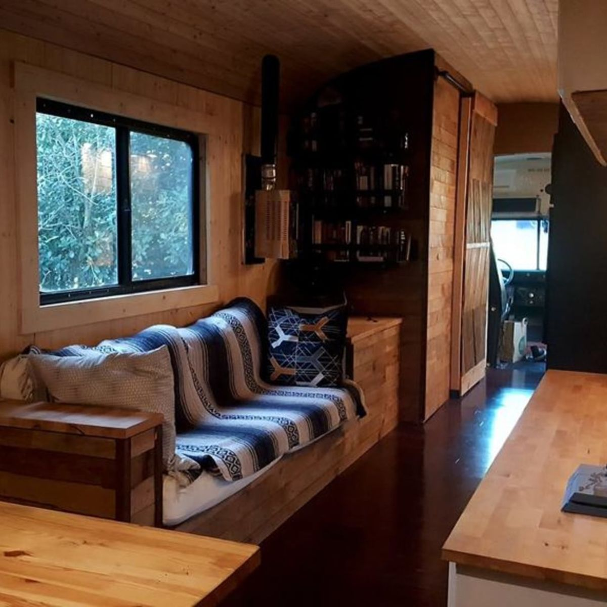 Outstanding Modern School Bus Conversion Converted Bus For Sale In Austin Texas Tiny House Listings Download Free Architecture Designs Barepgrimeyleaguecom
