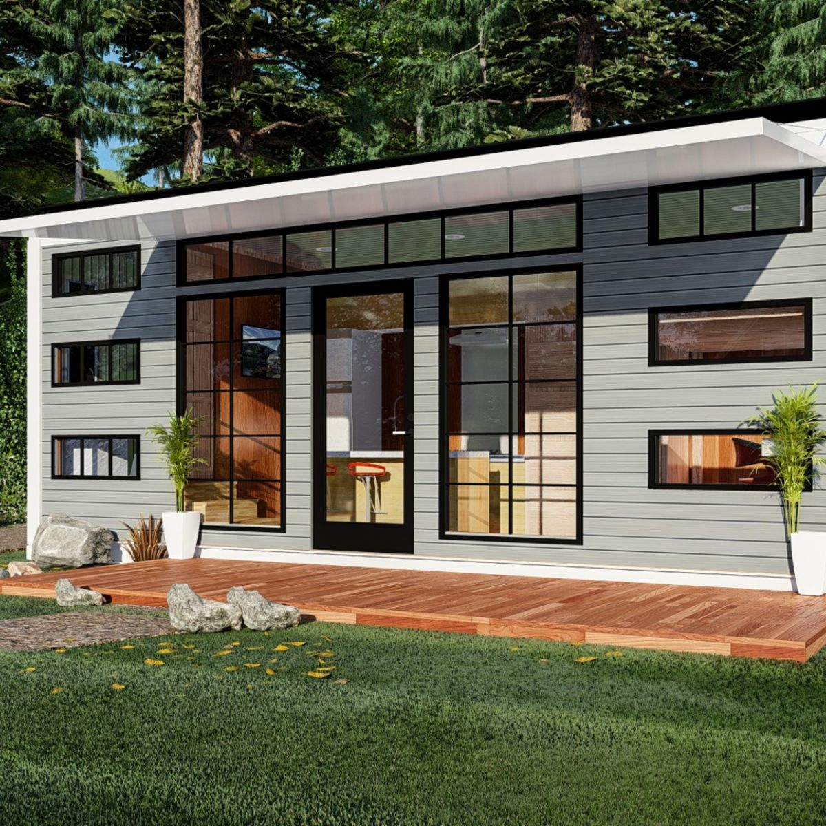 8x20 Off Grid Cargo Container Home