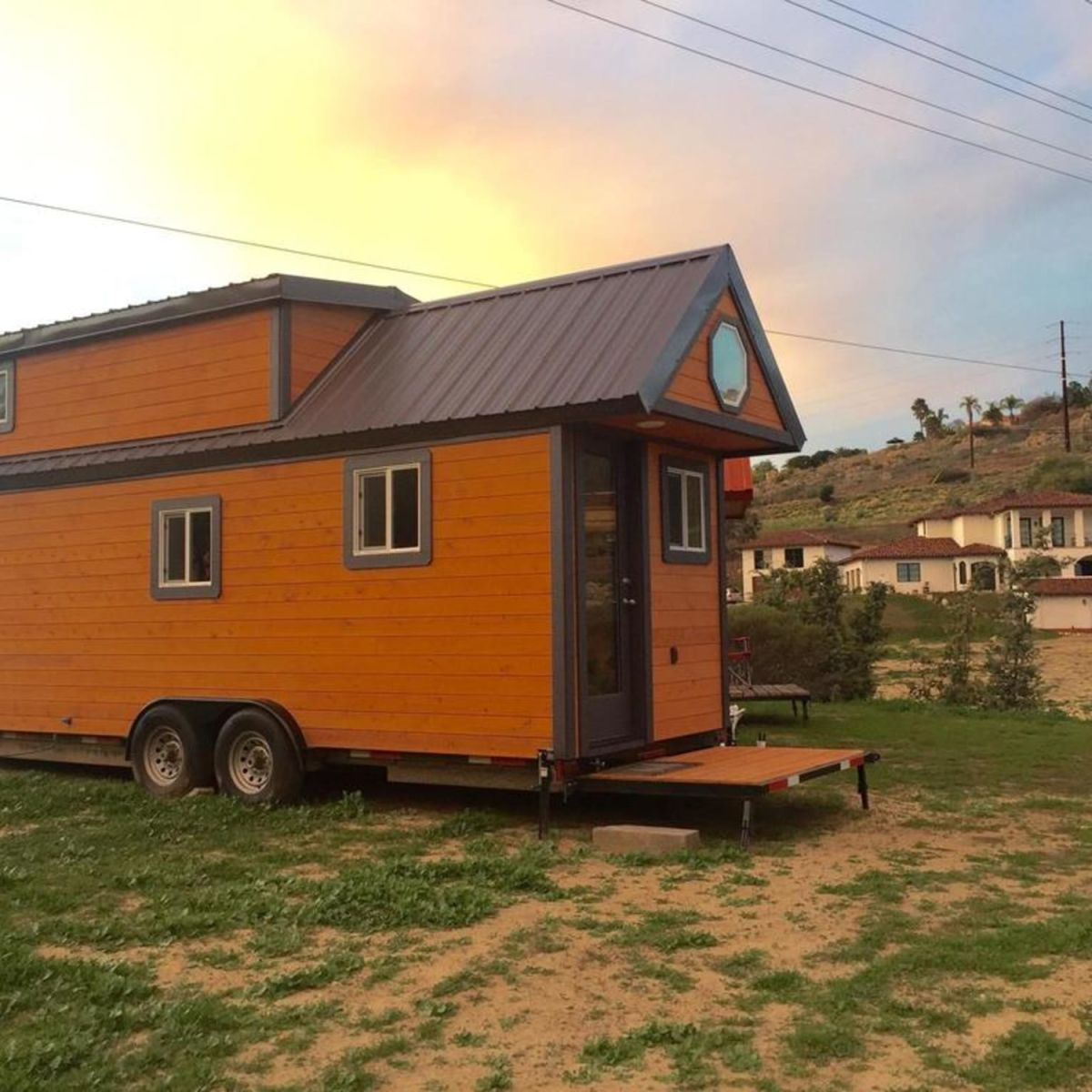 contemporary tiny house on wheels tiny house for rent in san diego california tiny house. Black Bedroom Furniture Sets. Home Design Ideas
