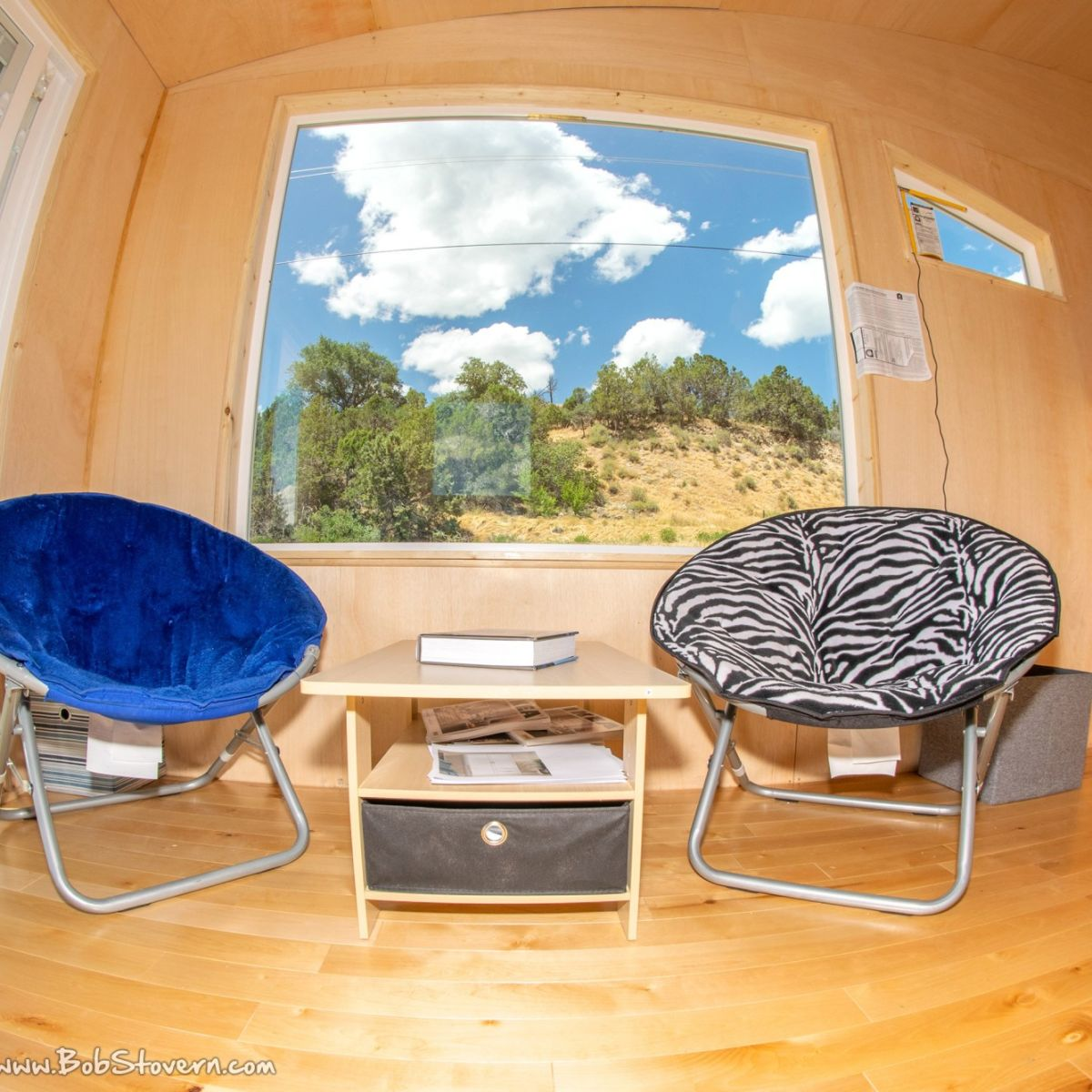 160 Sqft Tiny House Guest House Birch Wood Interior 4 Mile