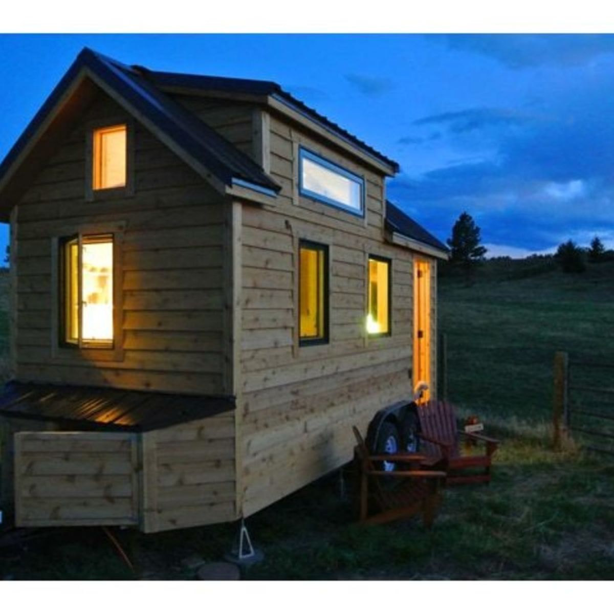 18ft Tiny Home On Wheels As Seen On Tv Tiny House For