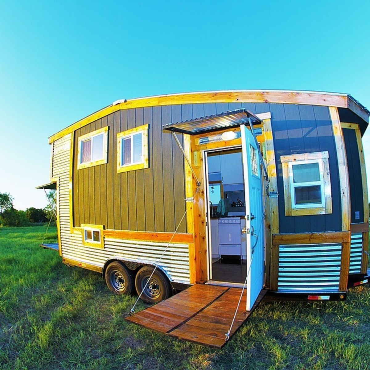 raw design creative tiny house  tiny house for sale in