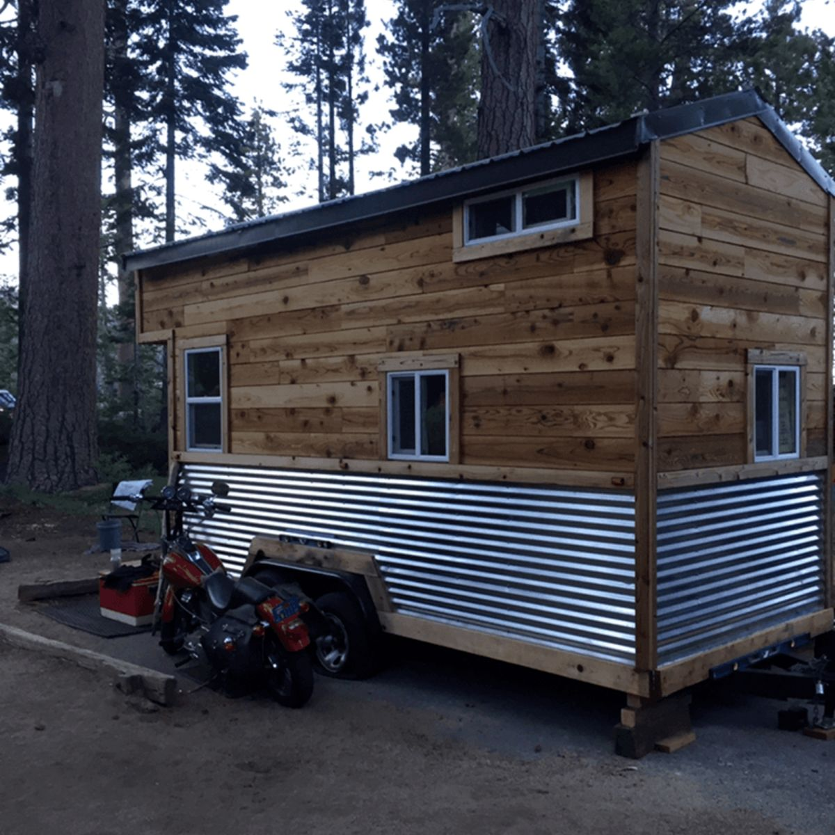 Off Grid Toy Hauler Tiny House Tiny House For Sale In