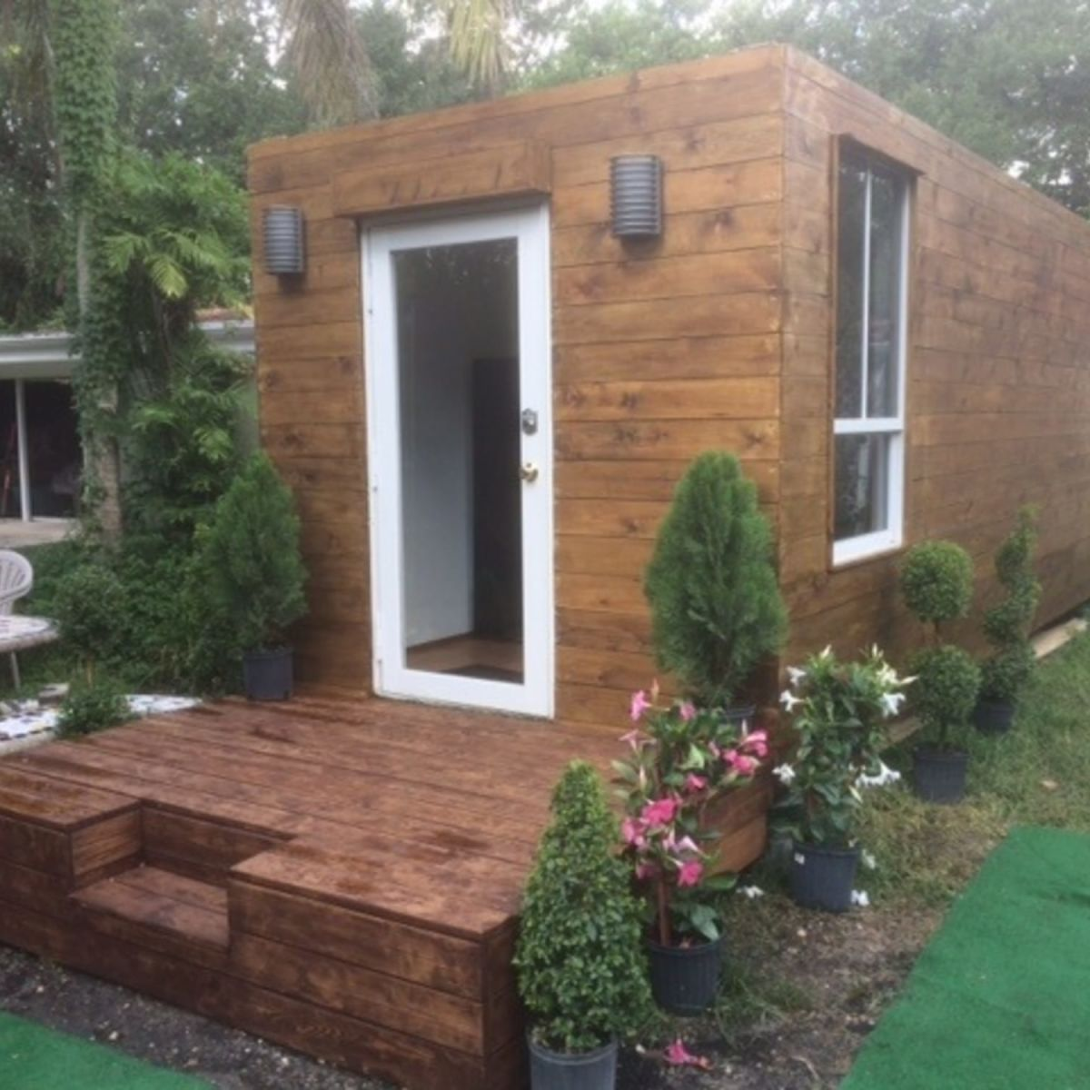 Mini House Shipping Container