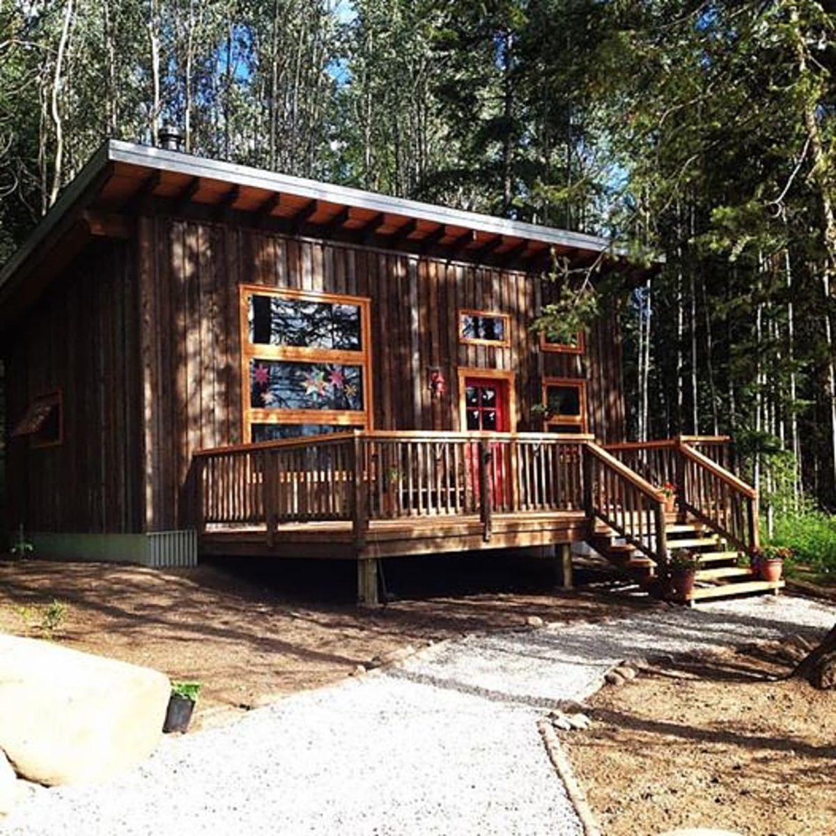 Canada 150 Small Home Designs: Little House In The Big Woods: Tiny Home On 5 Acres In