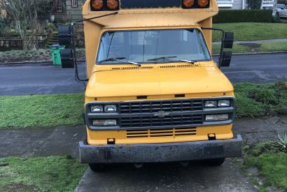 Converted School Bus Converted Bus For Sale In Seattle Washington Tiny House Listings