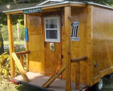 Awesome Custom Built Tiny House A/C, Micro, Full Size Bed, T.V. $4,999 For  Sale