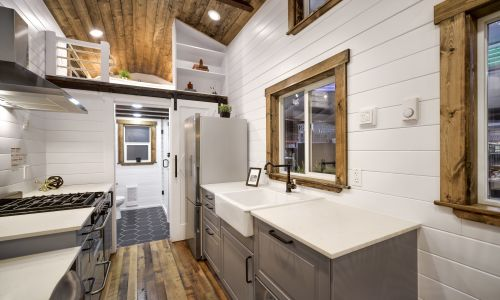 Tiny Houses For Sale In Delta. Rustic Meets Luxury: 30ft Loft Edition