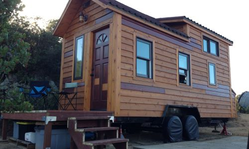 Open concept tiny house