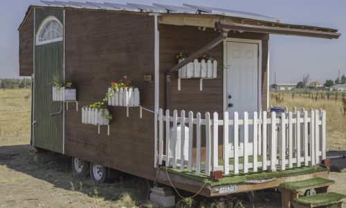 Tiny House Ready For COMPLETELY Off Grid Living!