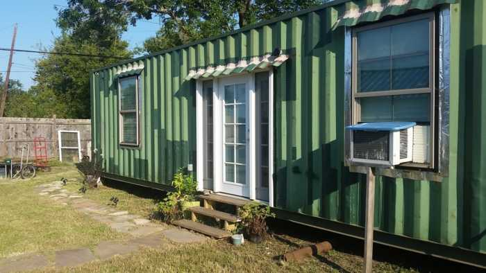 Tiny Container Home Tiny House For Sale In Houston