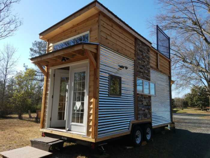 Adventure Tiny House With Zipline Tiny House For Sale In