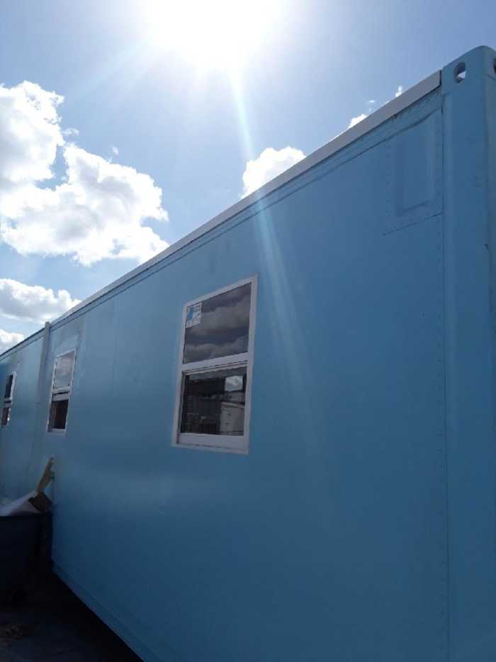 320 sq ft refrigerated shipping container conversion for 320 sq ft