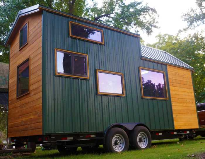 Tiny Home Designs: Tiny House On Wheels For Sale In Midtown Tulsa
