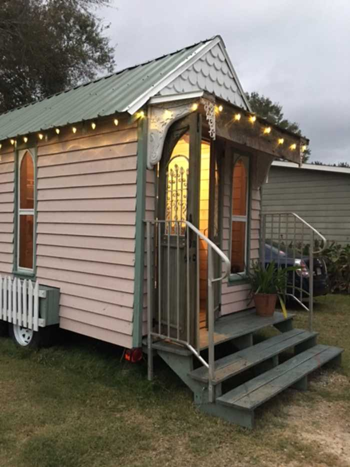 Victorian style tiny house tiny house shell for sale in for House shell cost