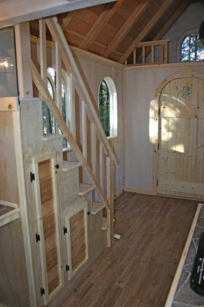 The Chalet Tiny House For Sale In San Jose California
