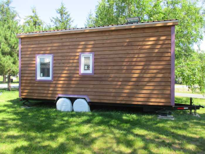 The lilac tiny house shell tiny house shell for sale for House shell cost