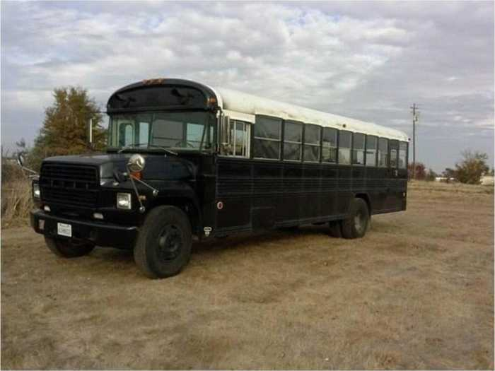 Tour Bus For Sale >> Converted 83' Ford Blue Bird School Bus - Tiny House for