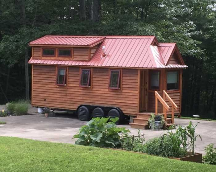Tiny House With Land And Storage Shed - House Available Separately