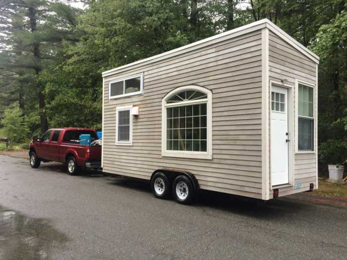 Cottage Style Tiny House On Wheels - Tiny House For Sale In