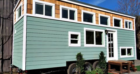 tiny house on wheels for sale. Beautiful Tiny House With Main Floor Sleeping. $64,900 For Sale On Wheels