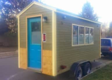 Unfinished Tiny House Tiny House For Sale In Sedalia