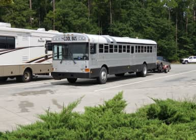 Simple Bus RV Skoolie for $15 9K  View of the Stars From