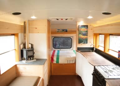 1972 GMC Buffalo 4905 Bus Conversion! - Converted Bus for Sale in