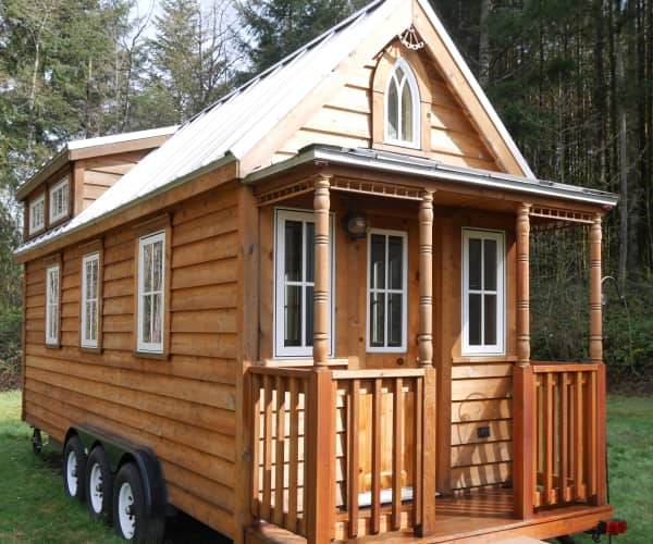 tiny house trailer for sale. Charming Tumbleweed Tiny House On Wheels With 2 Sleeping Lofts! Trailer For Sale