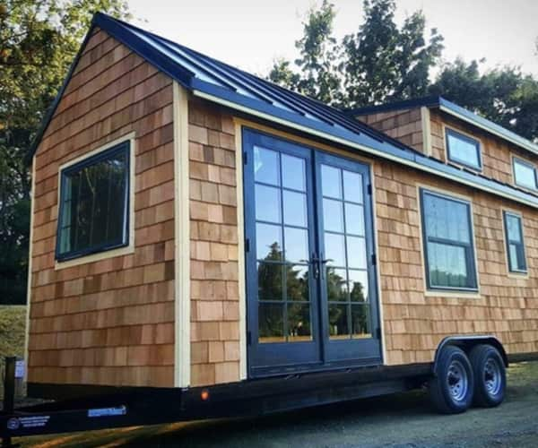 Cedar Shake Tiny House Shell. San Diego ...