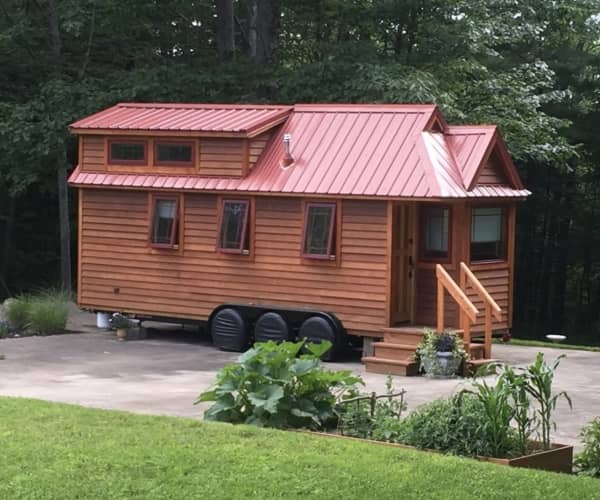 Tiny House With Land And Storage Shed   House Available Separately