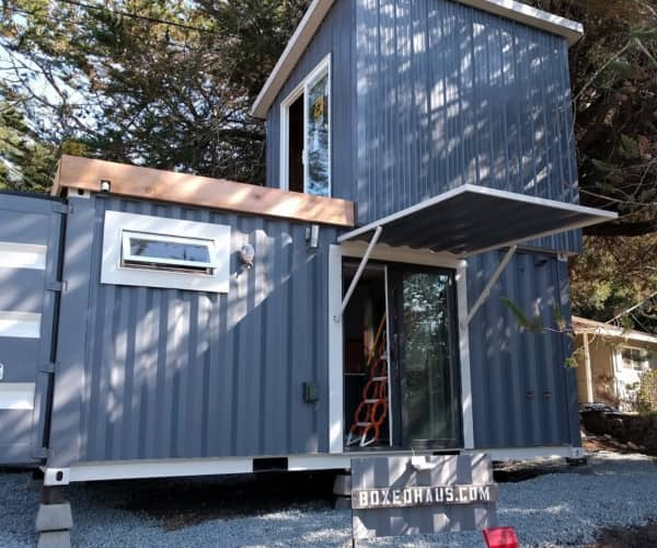 Haus Container boxed haus container home tiny house for sale in scotts valley