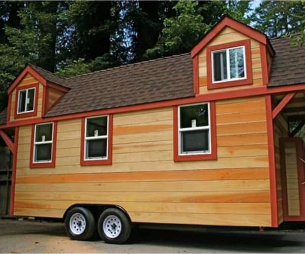 Tiny house two loft bedrooms