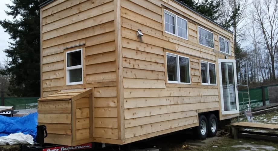 Tiny Home With Custom Features Tiny House For Sale In