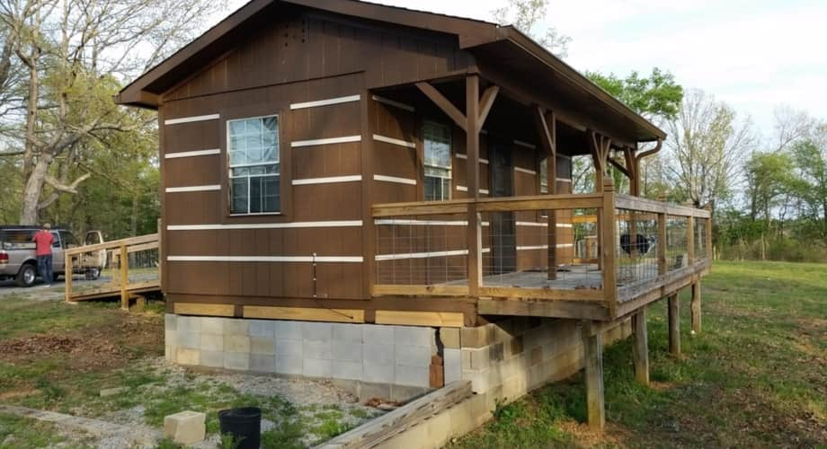 14x24 Cabin Cabin For Sale In Woodbury Tennessee Tiny House