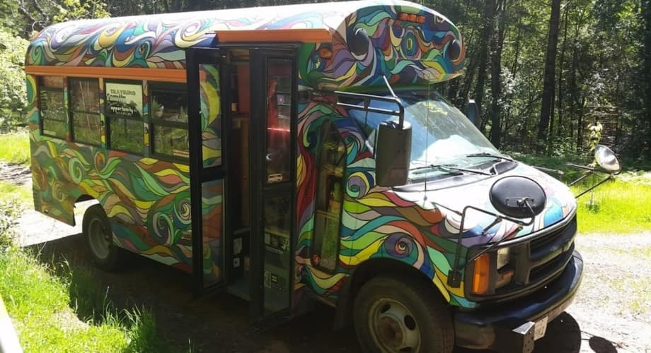 2001 Chevy Express Skoolie Conversion Tiny House For