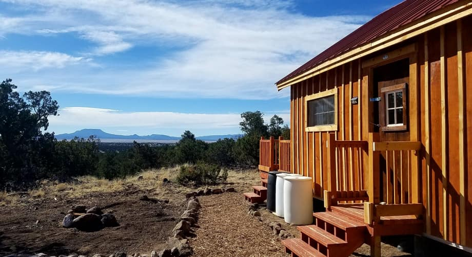 Good Karma Cottage On 17 Acres In Western New Mexico Cabin For