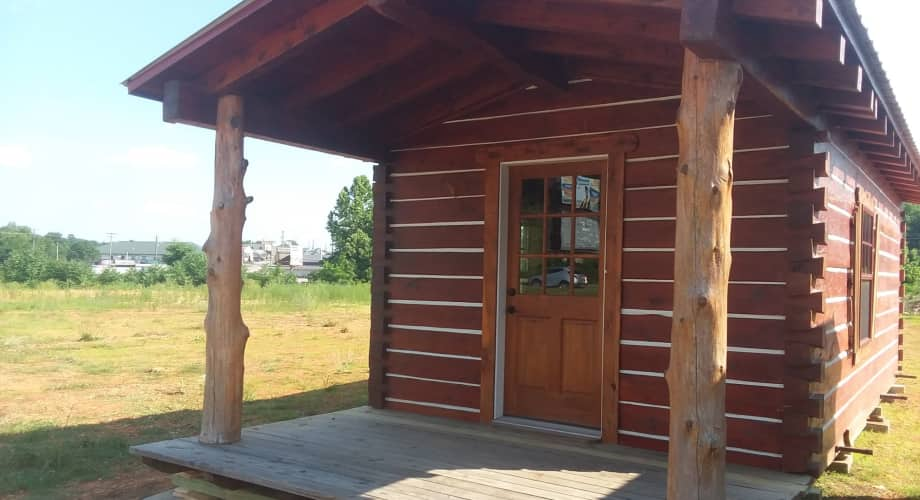 12 Ft X 30 Ft. Portable Log Cabin - Tiny House Shell for ...