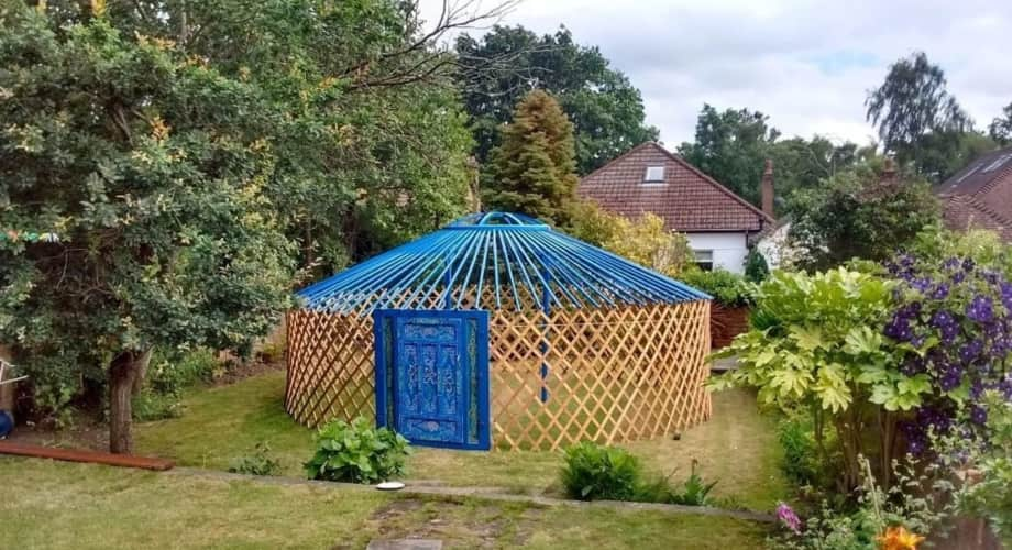 Blue Lotus Flower Yurt For Sale Tiny House For Sale In Null Null Tiny