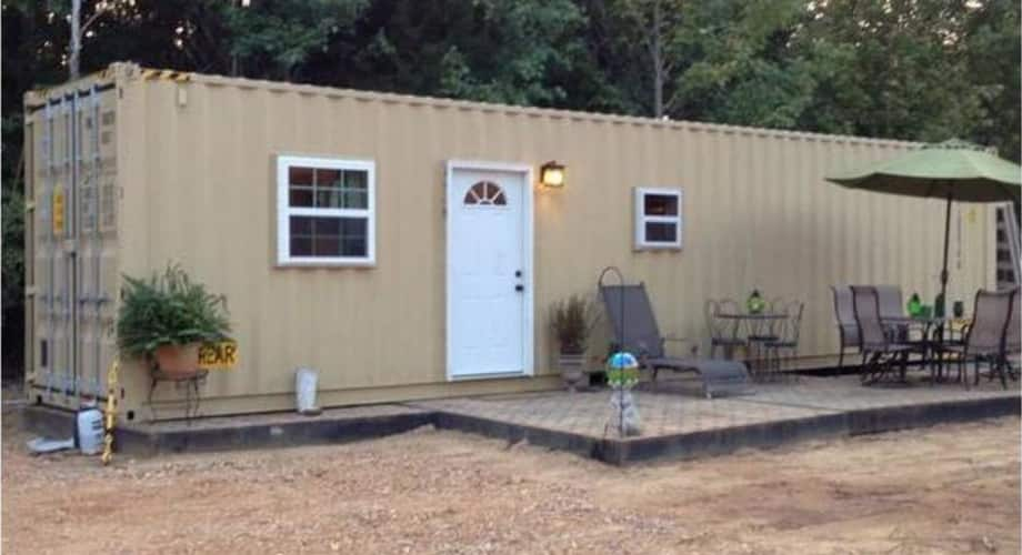 2 Bedroom Shipping Container Home Parkin Arkansas Sold 22000