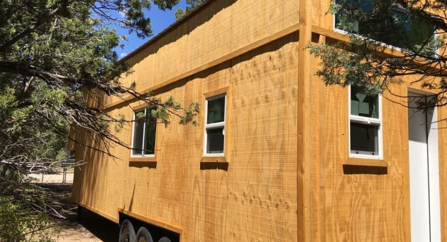 Tiny House Shell On 30 Trailer Tiny House For Sale In Albuquerque