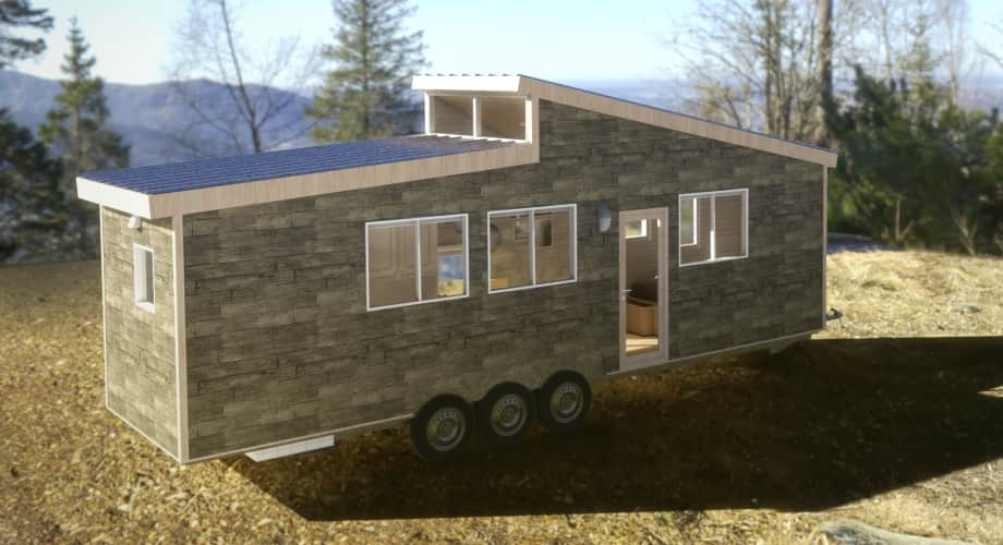 Ashmere Tiny House Customizable Model With First Floor Bedroom